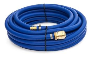 Tlaková PVC hadice BLUE 10 m, ø 6/12 mm, s rychlospojkou