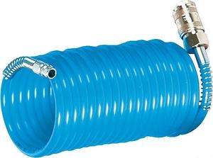 Spirálová PU hadice 5 m, Ø 6 mm, 10 bar