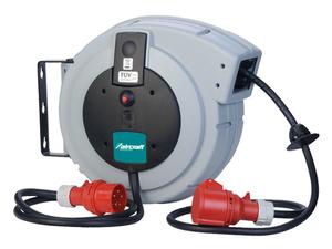 Navíjecí buben s kabelem KAR PRO 5×1,5/10 m, 400 V