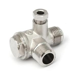 """Zpětný ventil 3/8"""" AG x 3/8"""" AG"""
