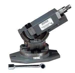 Trojosý otočný svěrák MV3-75