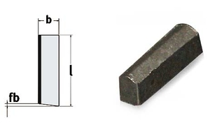 Upichovací destičky (pro nože č. 7, 14), šířka 3,2 mm