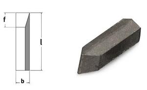 Závitovací destičky 60° (pro nože č. 6, 13, 15), 5 ks
