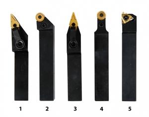 Soustružnické nože HM 16 mm, sada - 5 ks