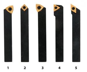 Soustružnické nože HM 10 mm, sada - 5 ks