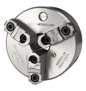 3-čelisťové sklíčidlo Cl3P s centrickým upínáním ø 200 mm Camlock 6, litina