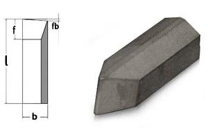 Závitovací destičky 60° (pro nůž č. 36), 5 ks