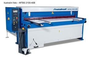 Elektrické nůžky na plech MTBS 3130-30 B s programovatelným zadním dorazem