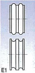 Rolny typ E1 (pro SBM 110-08)