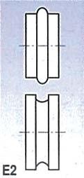 Rolny typ E2 (pro SBM 140-12 a 140-12 E)