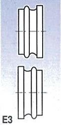 Rolny typ E3 (pro SBM 140-12 a 140-12 E)