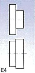 Rolny typ E4 (pro SBM 140-12 a 140-12 E)