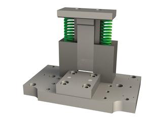 Děrovací nástroj pro stříhání ploché oceli max. 50x4 mm