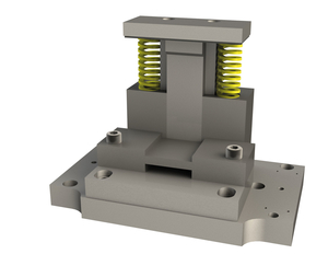 Děrovací nástroj pro stříhání tyčové oceli max. Ø12mm- dělící střih