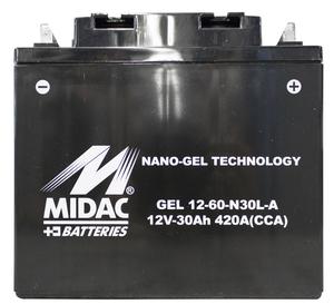 akumulátor pro Güde generátor proudu GSE 5501 DSG 40588
