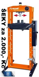 Ruční/nožní hydraulický lis WPP 15 E - ŠEKY za 2.000,- Kč ZDARMA!
