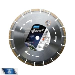 125x22,23 mm diamantový kotouč multifunkční a univerzální 4x4 EXPLORER+