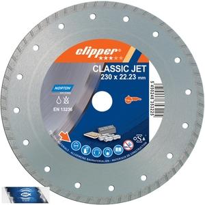 125x22,23 mm diamantový kotouč multifunkční a univerzální CLIPPER CLASSIC JET