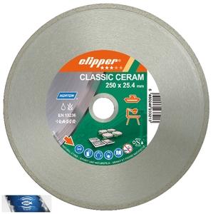 115x22,23 mm diamantový kotouč na kámen a obkladové materiály CLIPPER CLASSIC CERAM