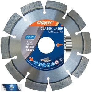 125x22,23 mm diamantový kotouč multifunkční a univerzální CLASSIC LASER