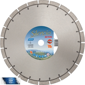 350x25,4 mm diamantový kotouč zámková dlažba a běžné stavební materiály SILENCIO UNI ST