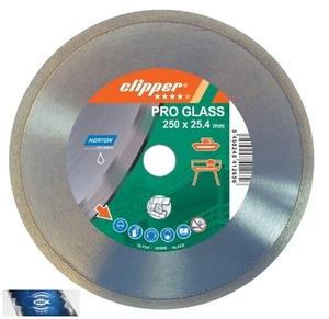 180x25,4 mm diamantový kotouč na sklo a glazovanou keramiku CLIPPER PRO GLASS
