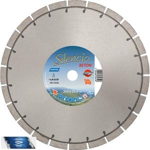 400x25,4 mm diamantový kotouč zámková dlažba a běžné stavební materiály SILENCIO UNI ST