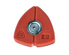Červená tryska pro bodový paprsek, 0° pro HDR-K 66-20/72-22