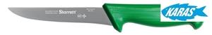 STARRETT značkový vykošťovací nůž - čepel široká/rovná 15 cm - zelený