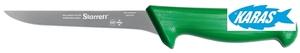 STARRETT značkový vykošťovací nůž - čepel úzká/rovná 15 cm - zelený