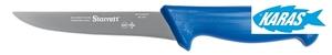 STARRETT značkový vykošťovací nůž - čepel široká/rovná 15 cm - modrý