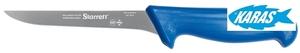 STARRETT značkový vykošťovací nůž - čepel úzká/rovná 15 cm - modrý