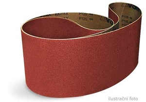 Brusný pás 1 220 × 150 mm, P150 korund