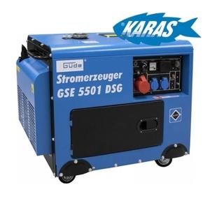 Güde generátor proudu GSE 5501 DSG 40588