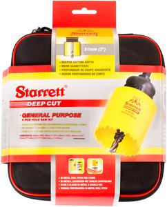 STARRETT sada vykružovacích korunek DEEP CUT, značková, made in UK - všeobecné použití