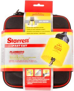 """STARRETT sada vykružovacích korunek FAST CUT, značková, made in UK - """"Instalatér"""""""