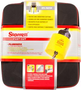 "STARRETT sada vykružovacích korunek FAST CUT, značková, made in UK - ""Instalatér deluxe"""