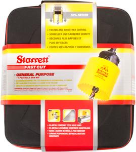 STARRETT sada vykružovacích korunek FAST CUT, značková, made in UK - univerzální sada 2