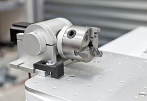 Rotační osa pro fiber laser se sklíčidlem