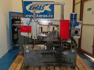DVOUSLOUPOVÁ AUTOMATICKÁ pásová pila na kov TMJ PP 302 CNC, starší, použitá, bazar