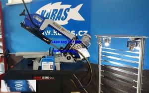 PILOUS pásová pila na kov ARG 220 PLUS