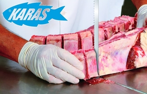 2490x16x0,45 pilový pás na maso s kostí STARRETT MEATKUTTER PREMIUM 4 tpi